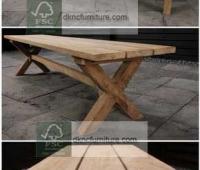 x-leg-bench-180cm-top-plank