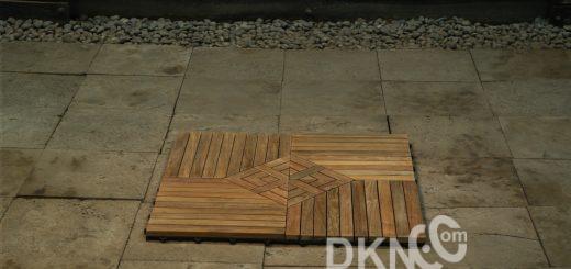 teak tile flooring